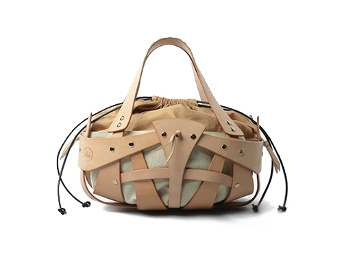 Geometric Cutout Leather Shoulder Bag Sale