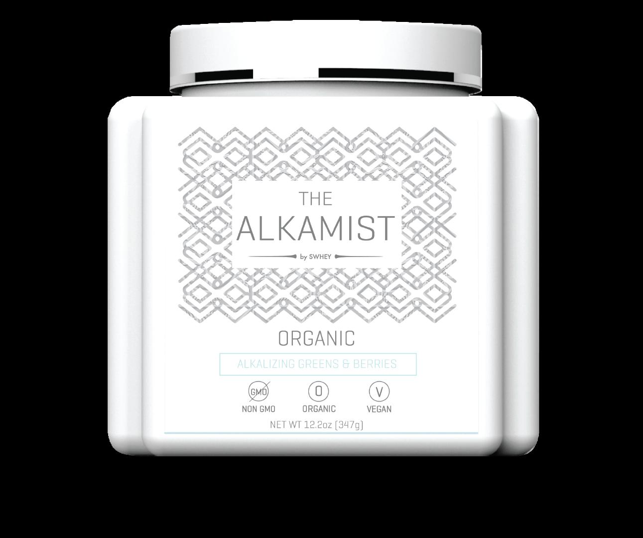 Alkamist by Swhey Super Green Superfood Multivitamin Powder for Women