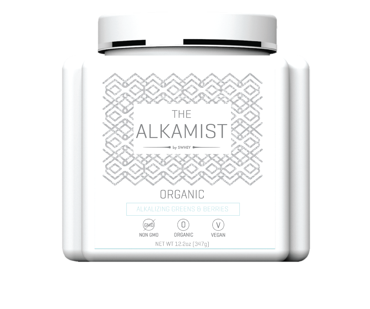 Alkamist by Swhey Supergreen superfood multi vitamin powder for anti-aging, detox, and clear skin