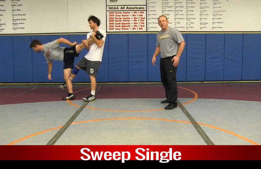 Single Leg: Sweep Single