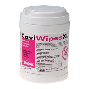 CaviWipes Disinfectant Towelettes - Large (160/can)