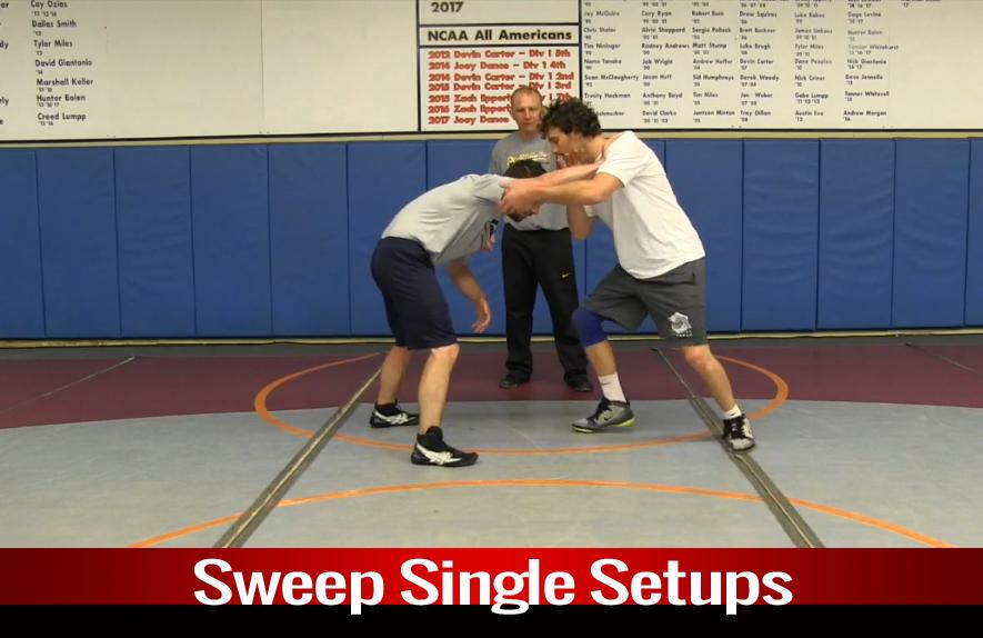 Single Leg: Sweep Single Setups