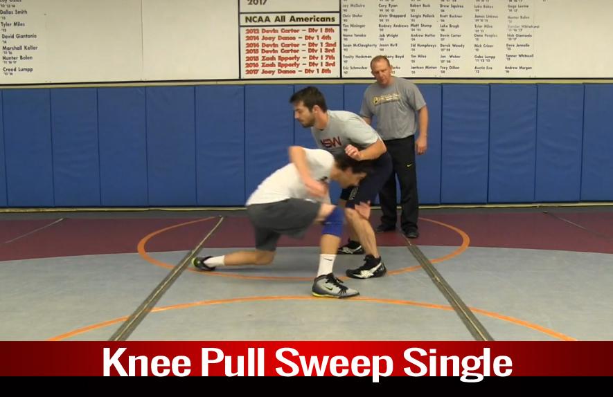 Single Leg: Knee Pull Sweep Single