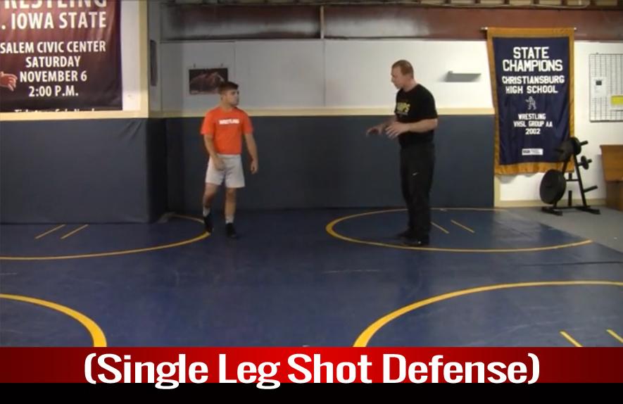 Single Leg: Single Leg Shot Defense