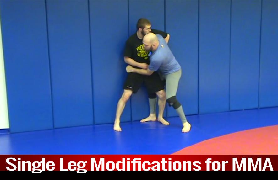 Single Leg: Modifications for MMA