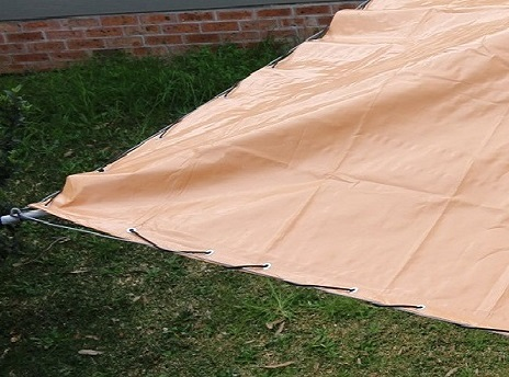 PVC Rotary Clotheslines Cover