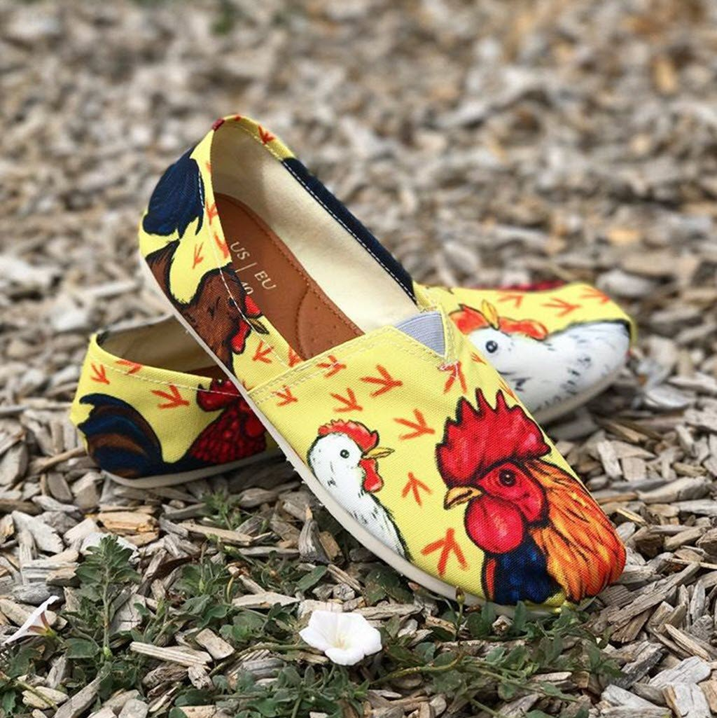 Chicken Casual Shoes