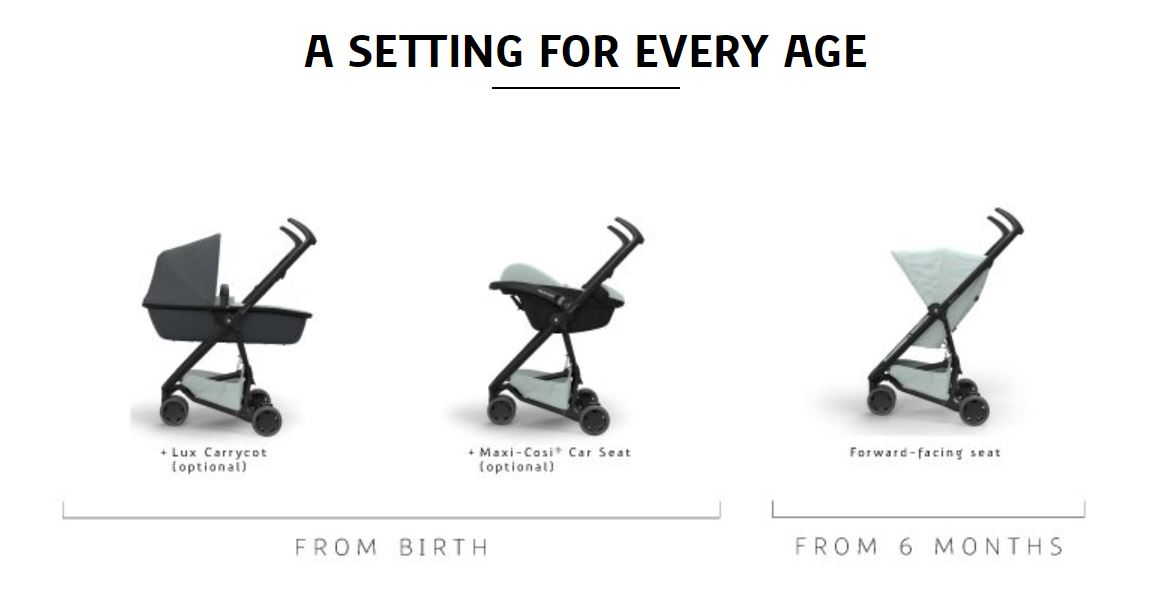 A setting for every age