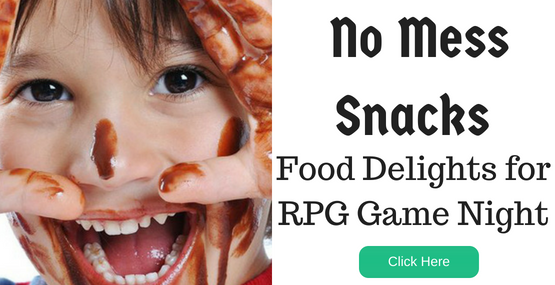 Dungeons and Dragons Game Night Recipes