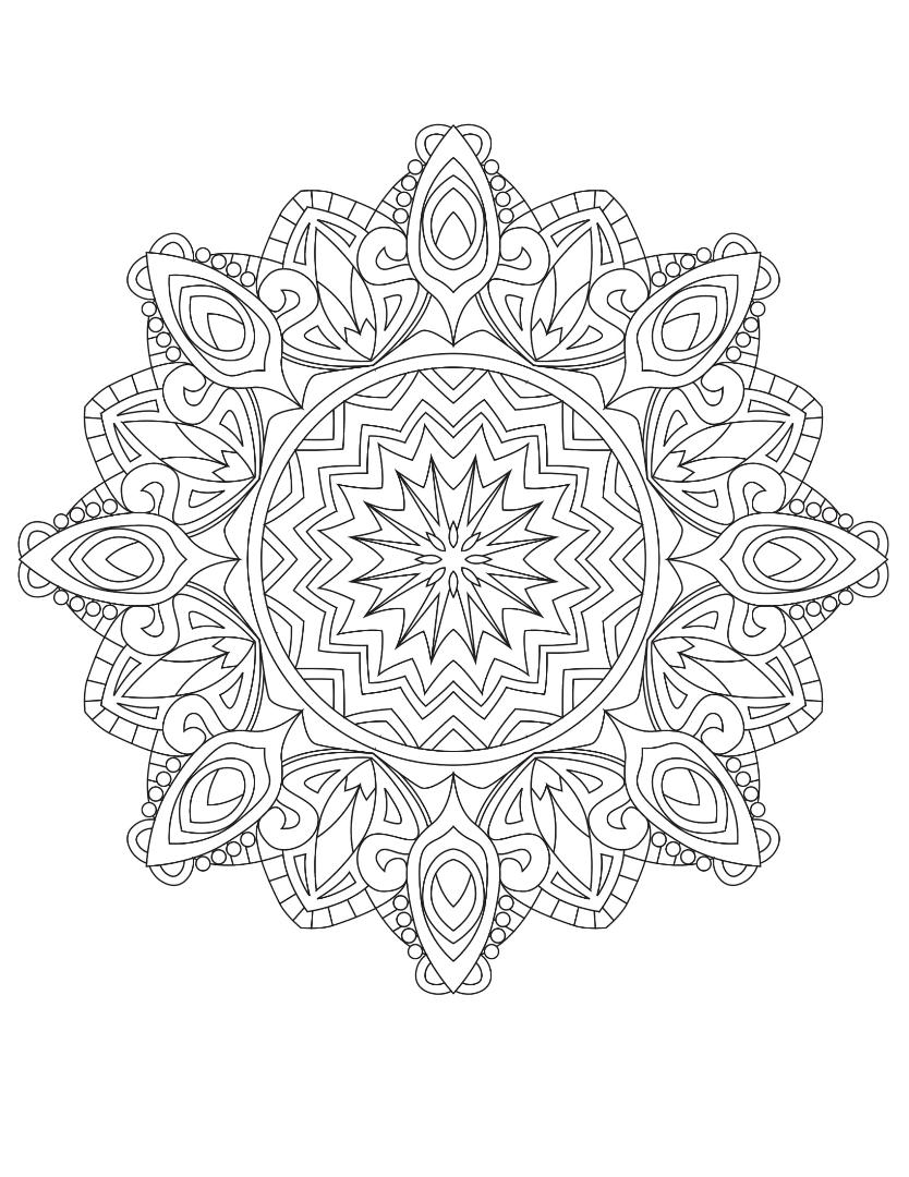 Mandalas To Color Vol 1 - Summer