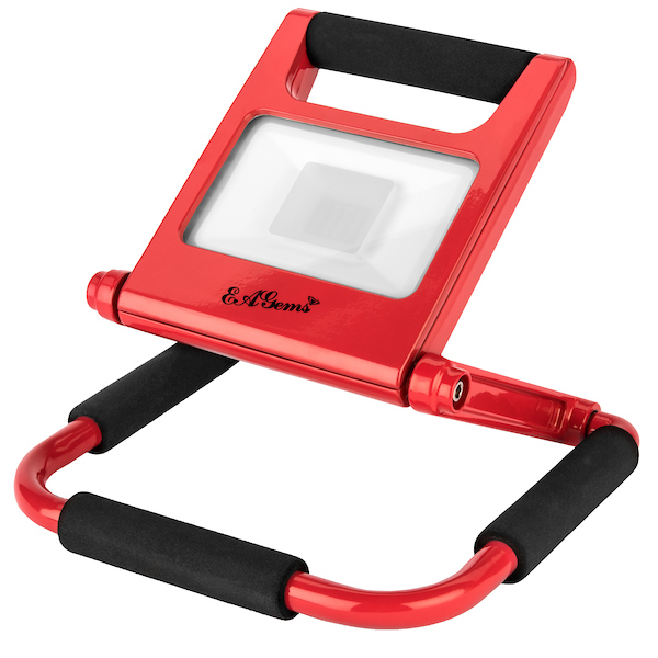 Rechargeable LED Work Light - Red