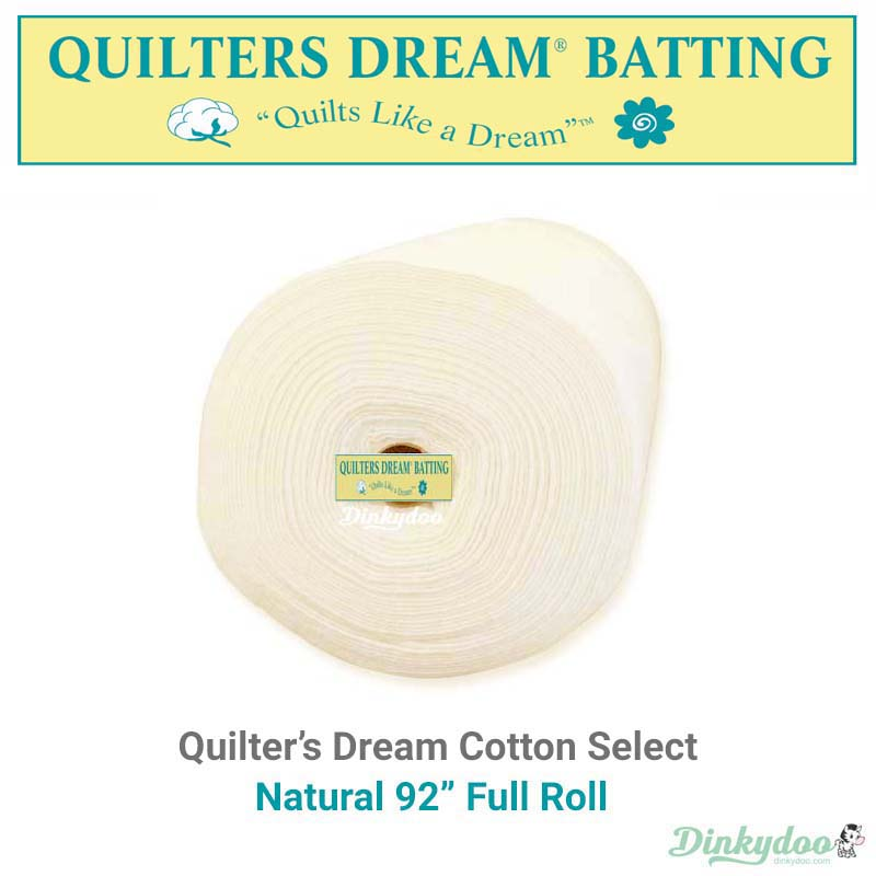 quilters dream select batting natural 92