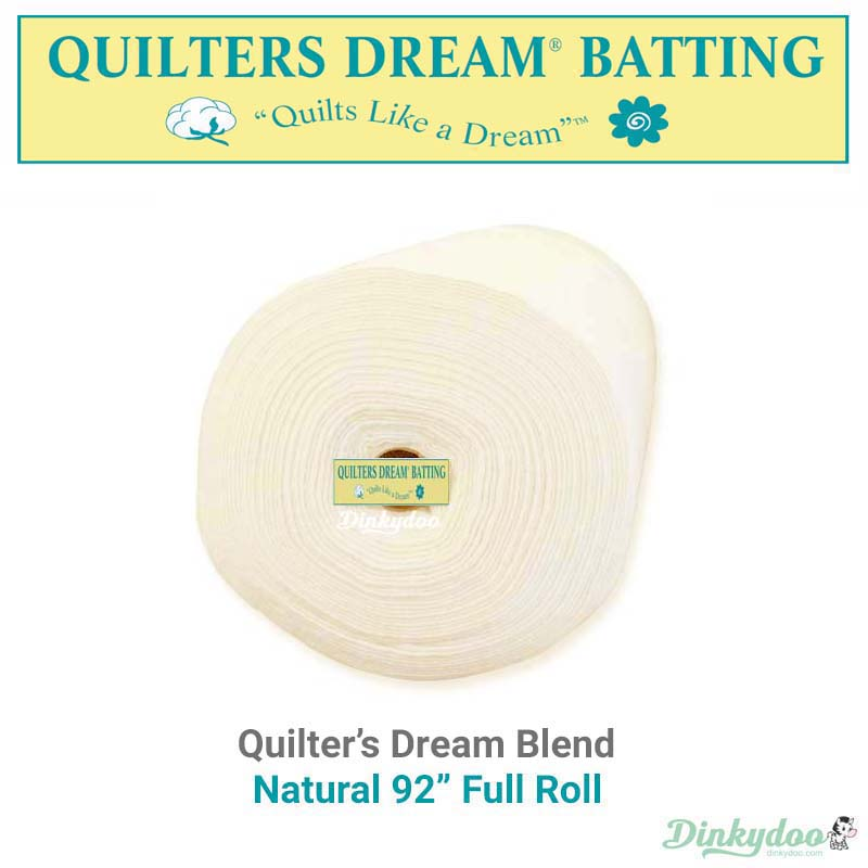 quilters dream blend batting natural 92