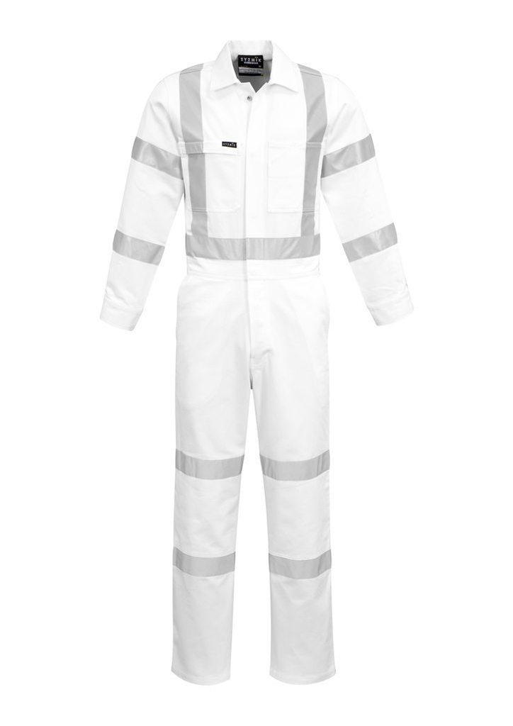 ZC620 White Hi-Vis Overalls