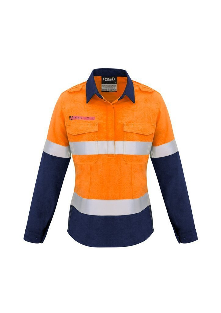 WOMENS WORKWEAR HI VIS SHIRT