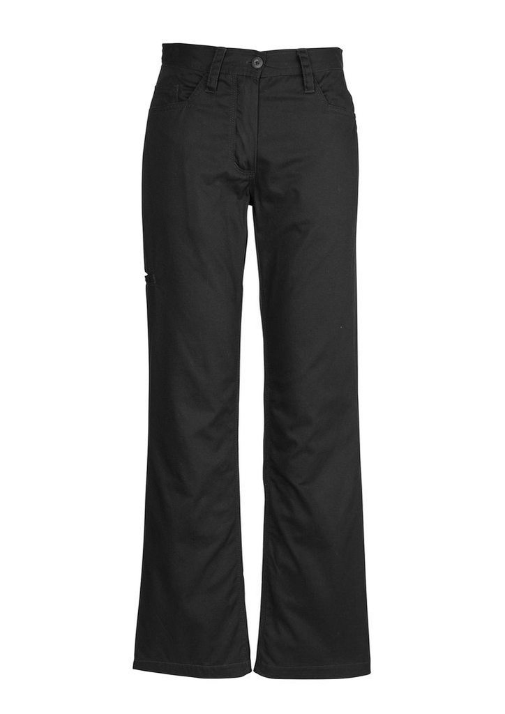 WOMENS PLAIN UTILITY PANTS