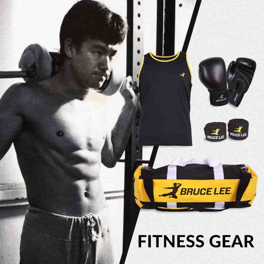 Bruce Lee Fitness Gear from the Bruce Lee Family Store