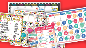 Back To School Bulletin Board Sets
