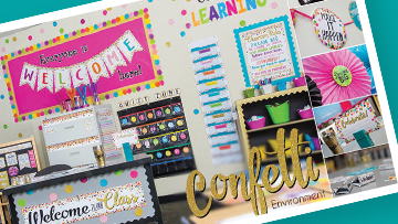 Back To School Classroom Environments