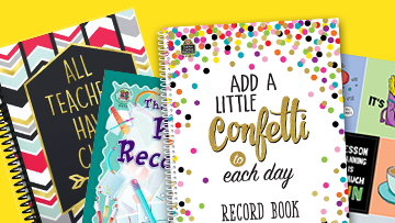 Back To School Lesson & Record Books