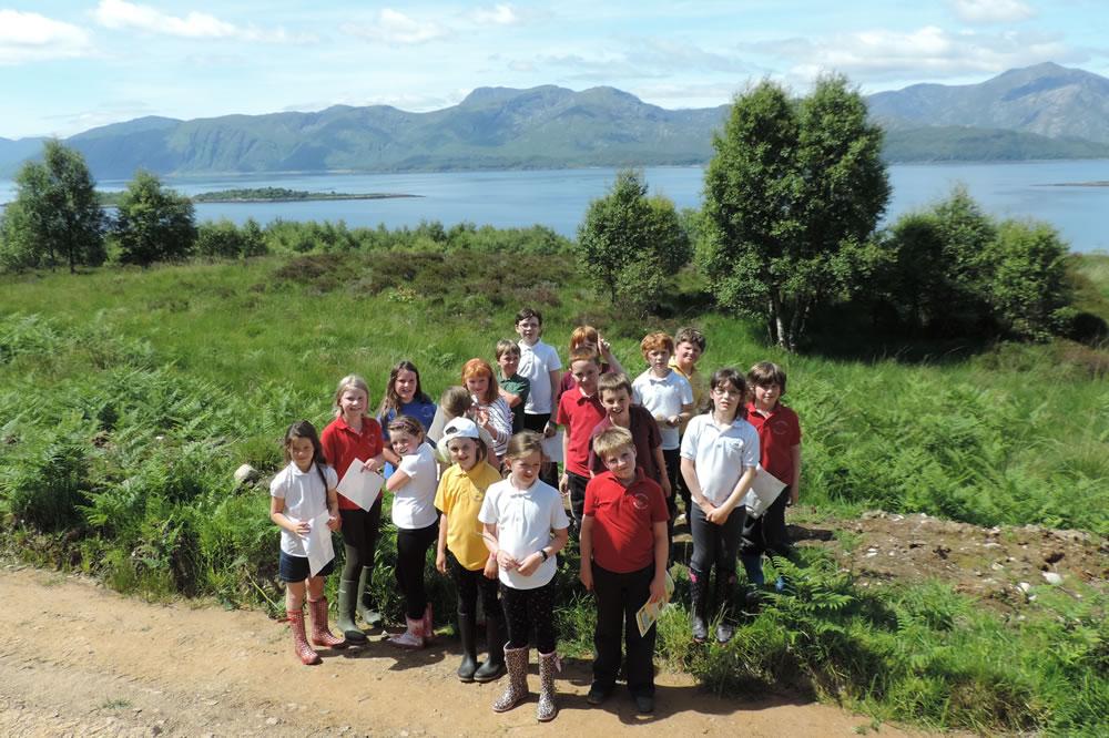 Tree Planting School Class