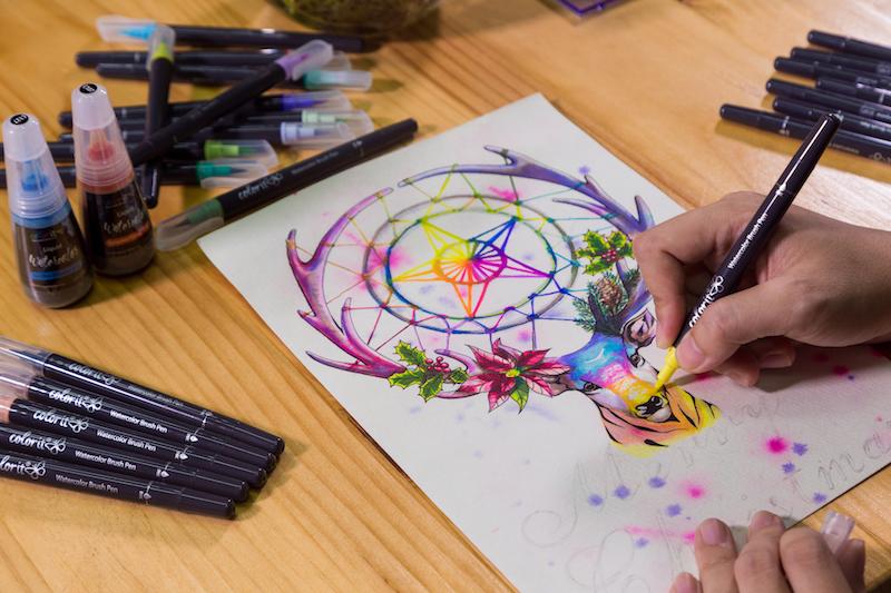 ColorIt Watercolor Brush Pens