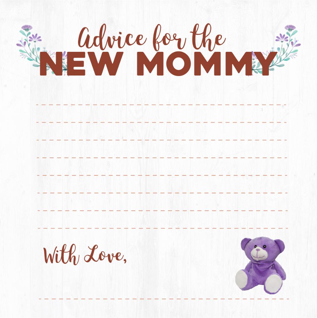 Wild Baby Baby Shower Advice