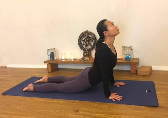 Shantihi Yoga Upward Facing Dog