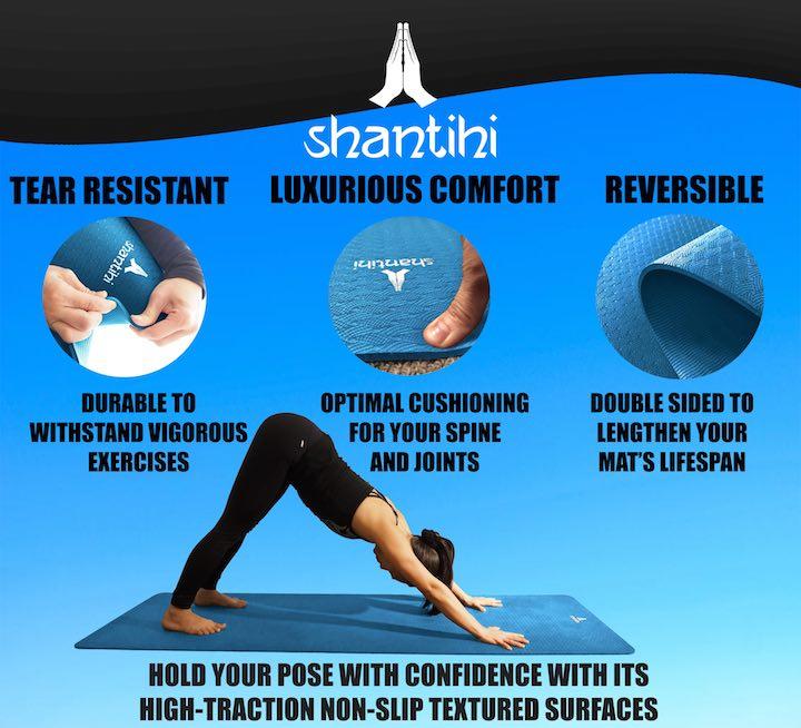 Shantihi TPE Eco Yoga Mat