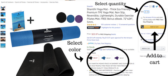 Shantihi Yoga Mat Add to Cart