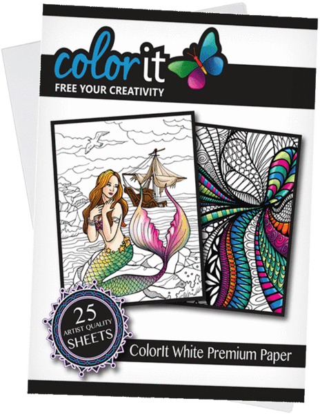 COLORIT PREMIUM ARTIST GRADE PAPER - 25 SHEETS