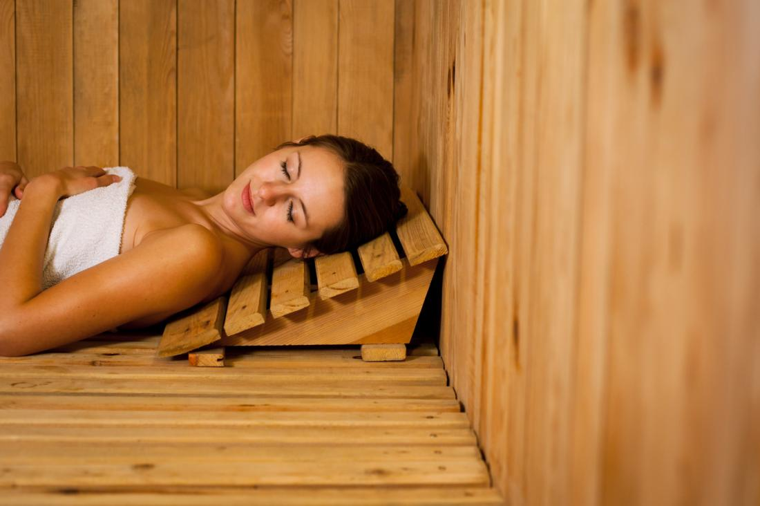 Sauna Benefits - Clear the Skin