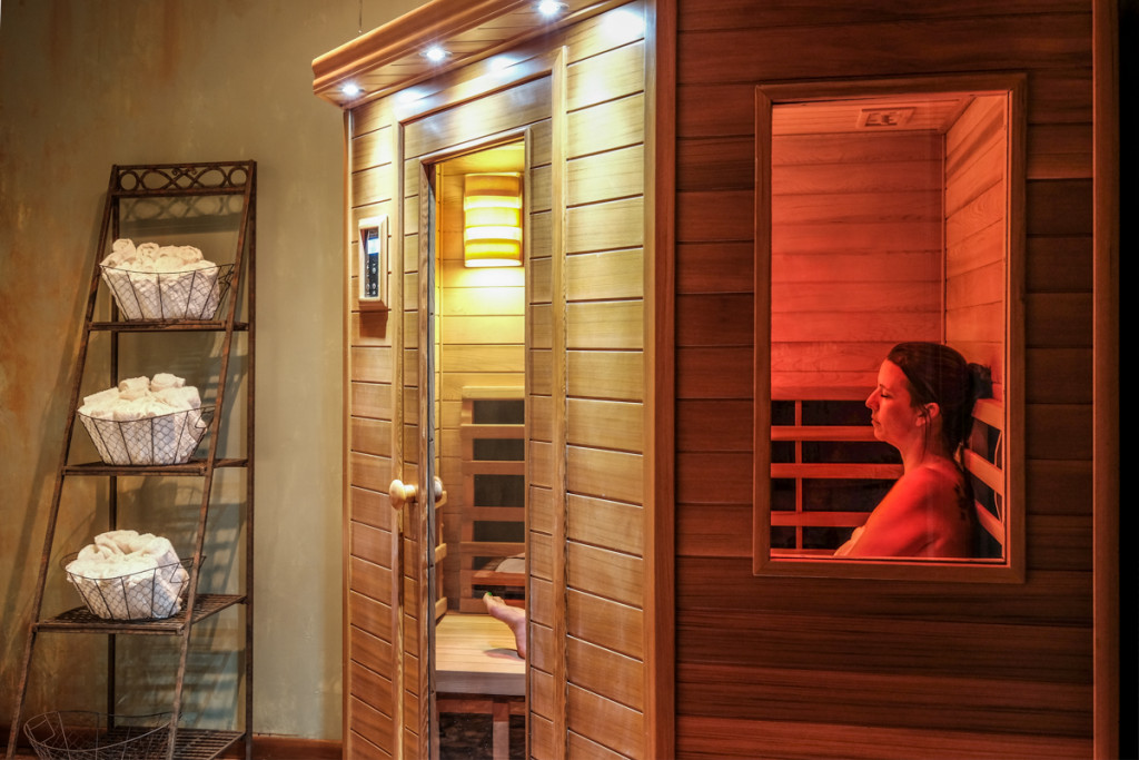 Burn Calories Using Sauna