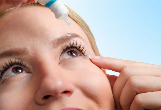 How to apply eye ointment and drops