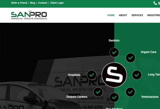 sanpro waste