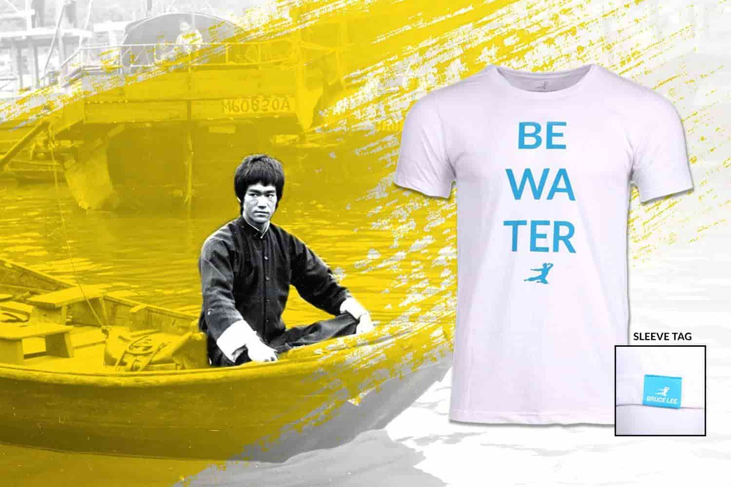 Be Wa Ter Shirt | Shop The Bruce Lee Official Store