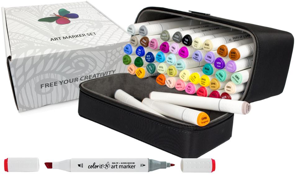 ColorIt Premium Marker Set