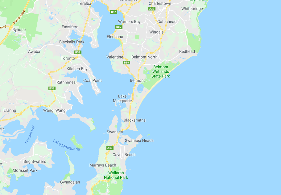 Lake Macquarie NSW clothesline installation service area