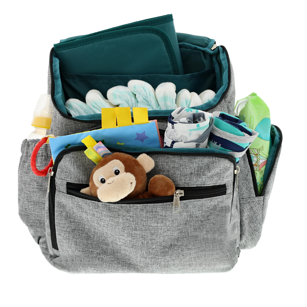 Diaper bag with plenty of room