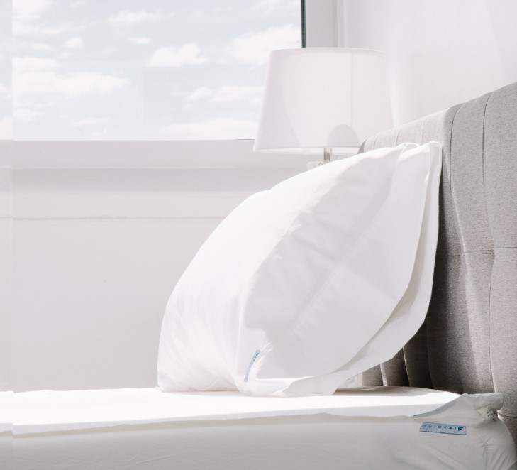 QuickZip - Sheets that Zip on and won't pop off