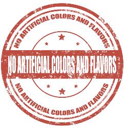 No artificial ingredients