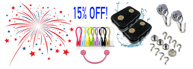 Monster Magnetics 4th Of July 4-Day Sale
