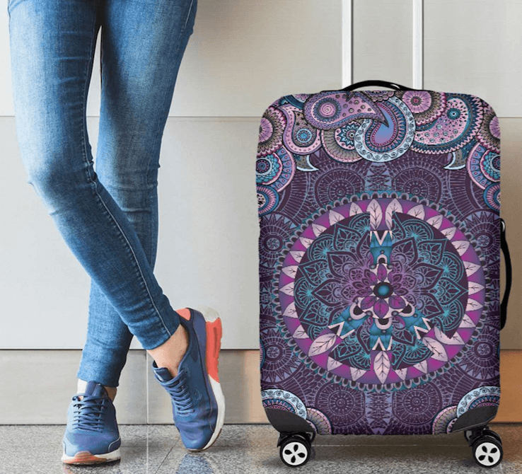 Bohemian Luggage Covers | Hippie Luggage Cover Protectors - YesWeVibe