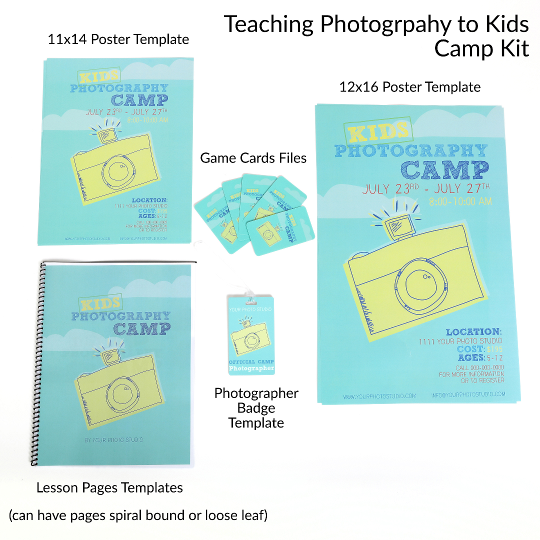 Teaching Photography to Kids Curriculum