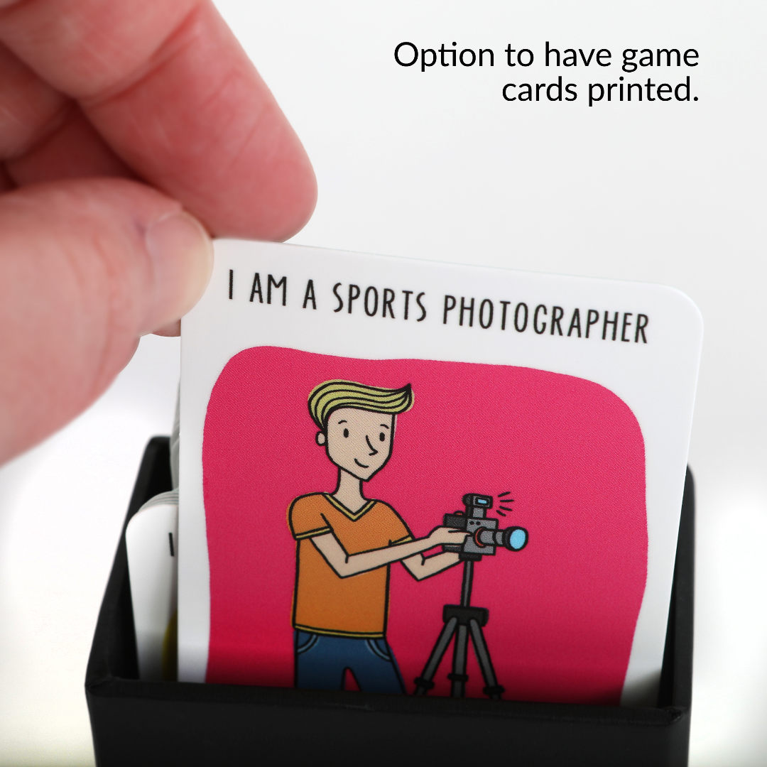 Teach Photography Card Game Files