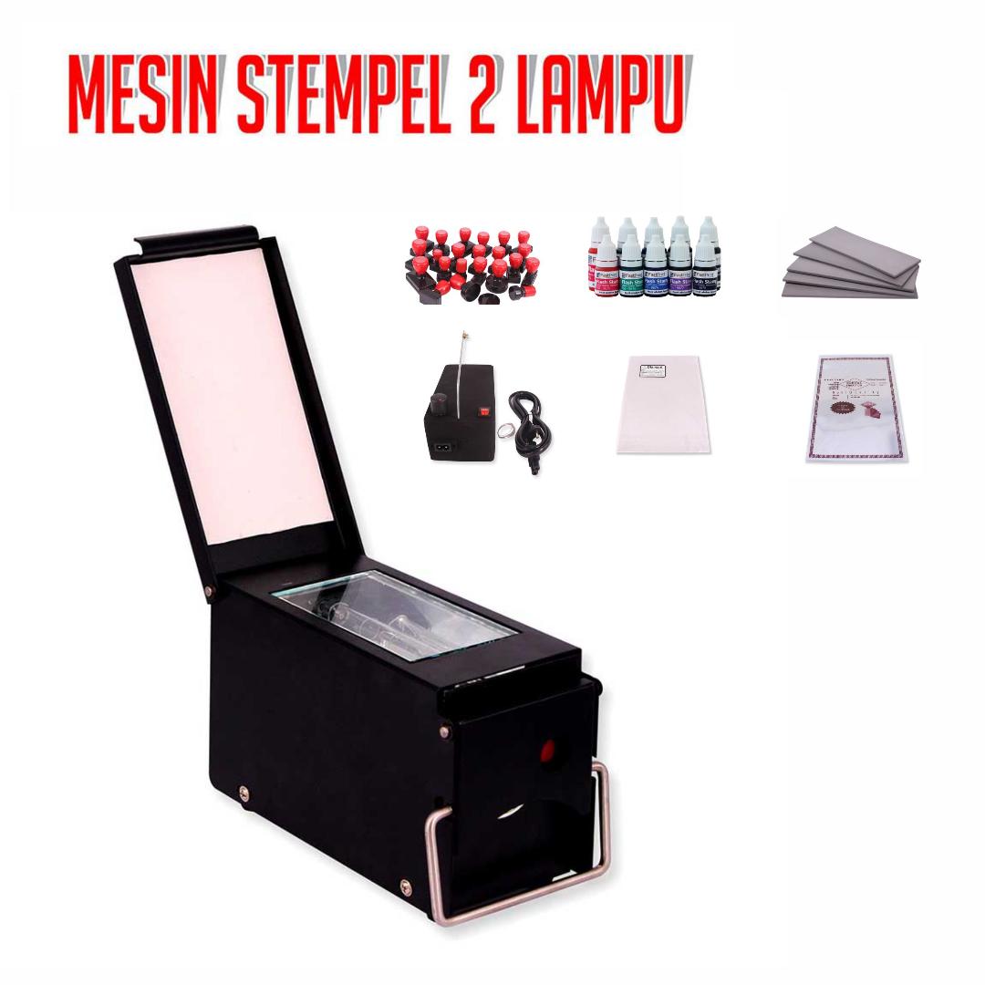 Mesin Stempel Flash Fast Print 2 Lampu