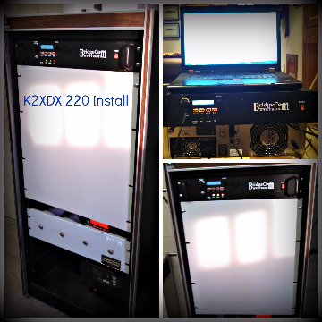 K2XDX BCR-220 Repeater Install