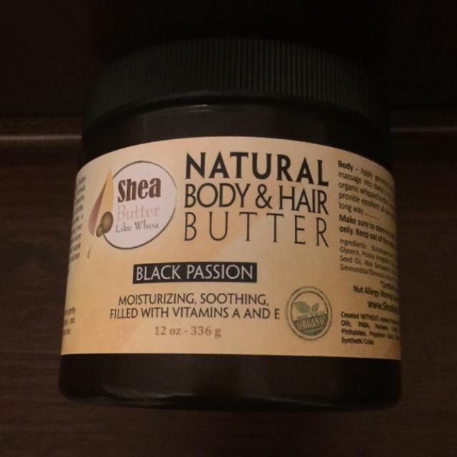 Black Passion is my favorite I love this Shea butter!!