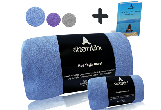 Shantihi Hot Yoga Towel