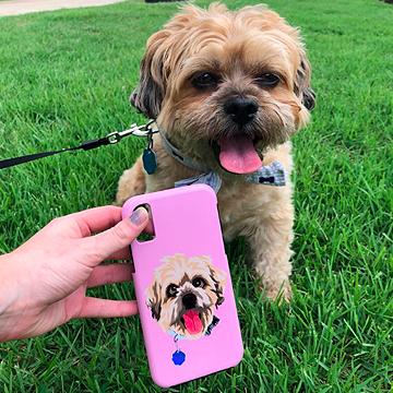 Custom Pet iPhone Case